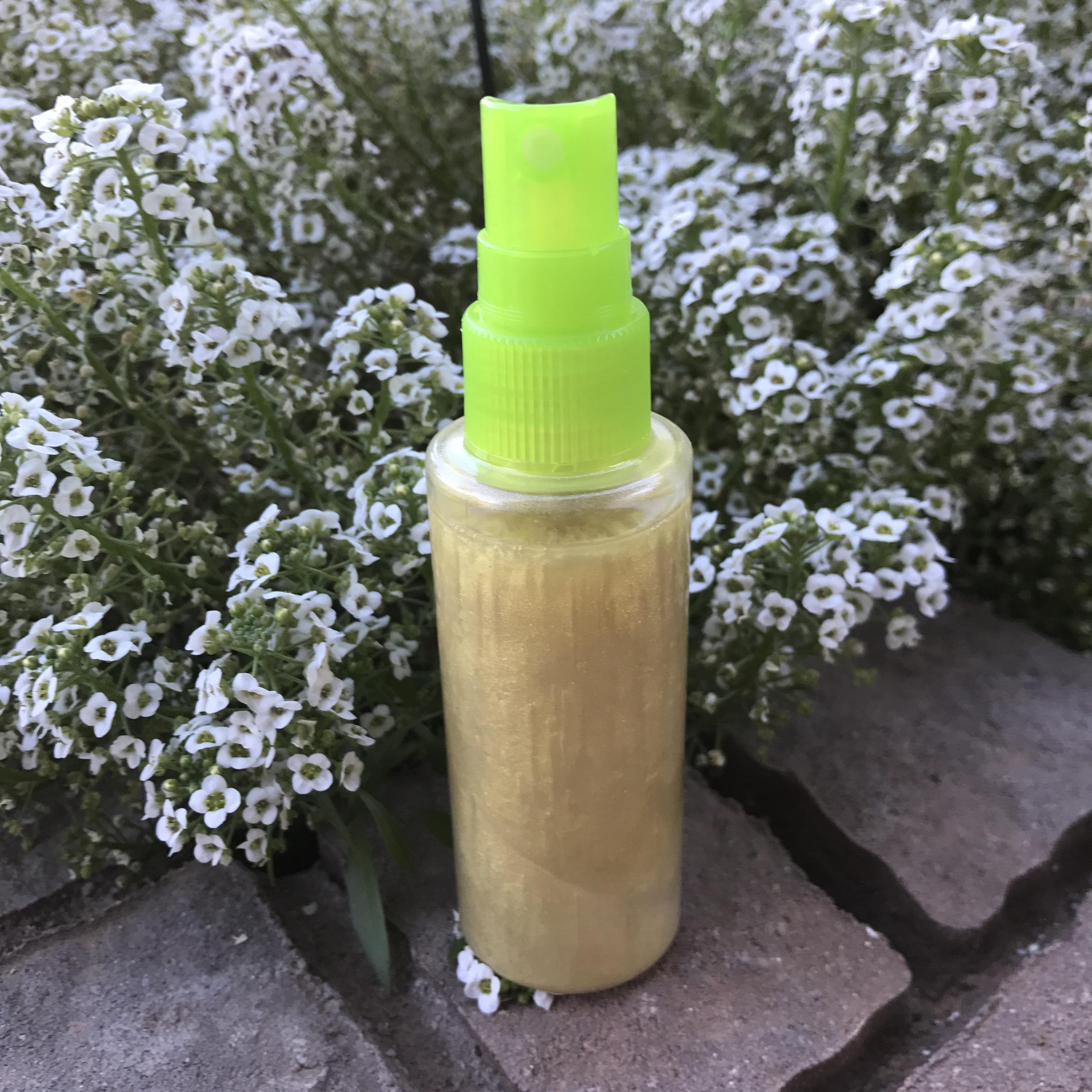Diy Shimmer Body Oil